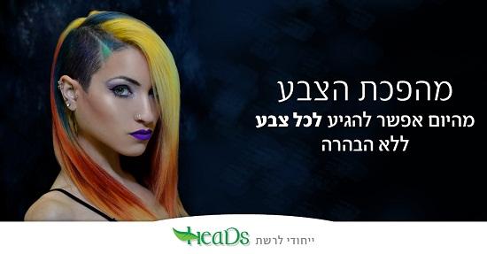 צבע לשיער ללא אמוניה